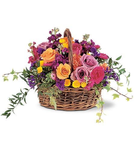 Gathering In The Garden Basket