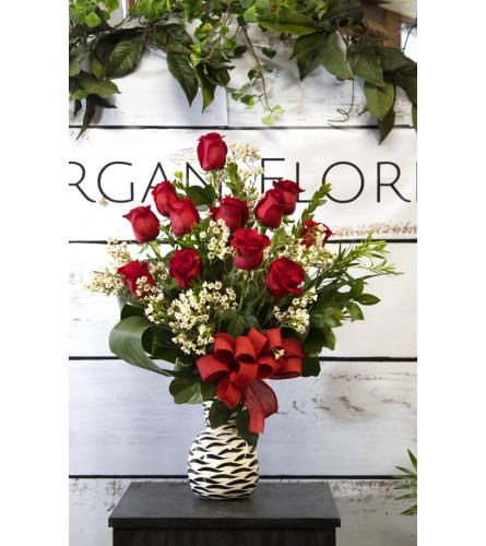 Wild About You dozen roses