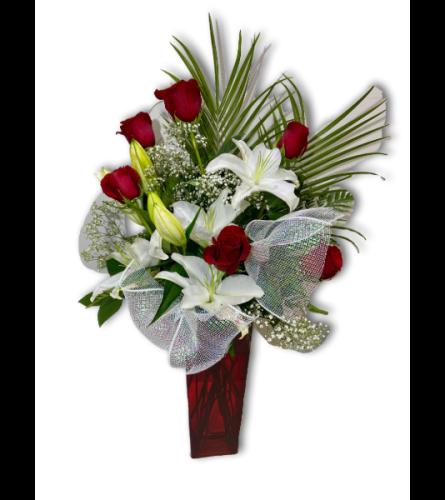 I'll Love You Forever Rose Arrangement