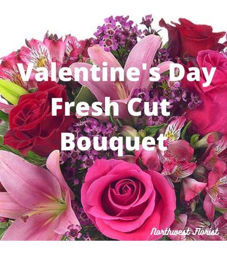 Vday Fresh Cut Flowers