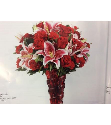 Valentine's Day florist choice designs