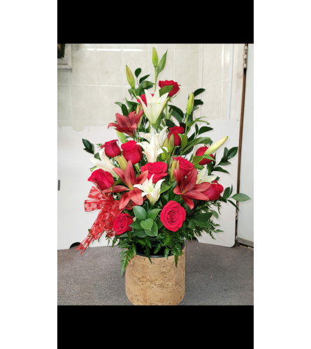 Rose lily Tray