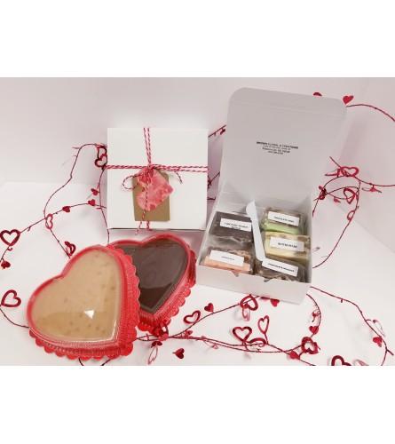 Assorted box of Seasonal Homemade Fudge per pound