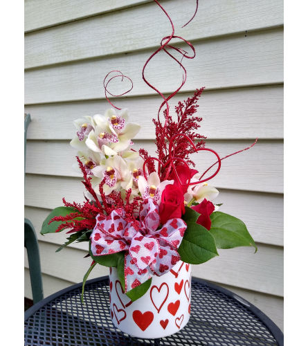 Valentine Orchid Love