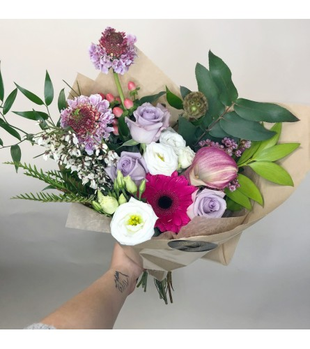 Be Mine Hand-Tied Bouquet
