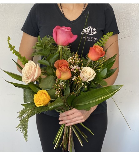 Artisan Rose Bouquet