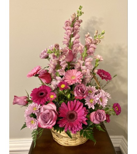 Blooming Conversations Basket