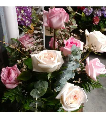 Fragrant Premium Pink Garden Roses