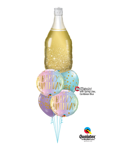 Cheers to the Years! Cheerful Balloon Bouquet