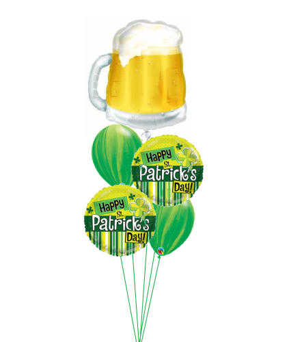 Cheers to St. Pat's Cheerful Balloon Bouquet