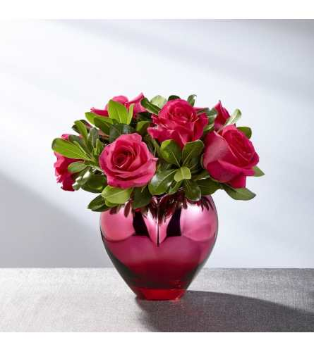 Hold me in Your Heart bouquet with roses
