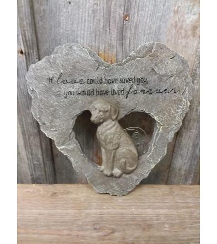 Pet Plaque (Dog) 'If Love...'