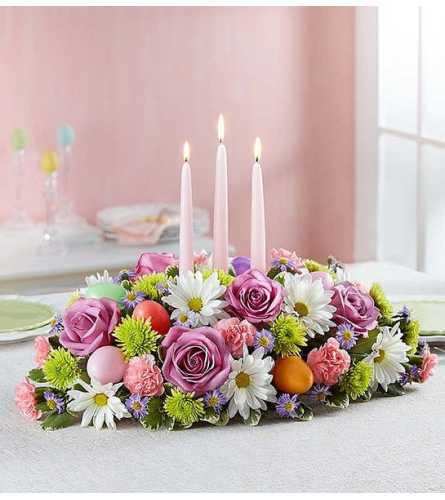 The Easter Candlelight Centerpiece