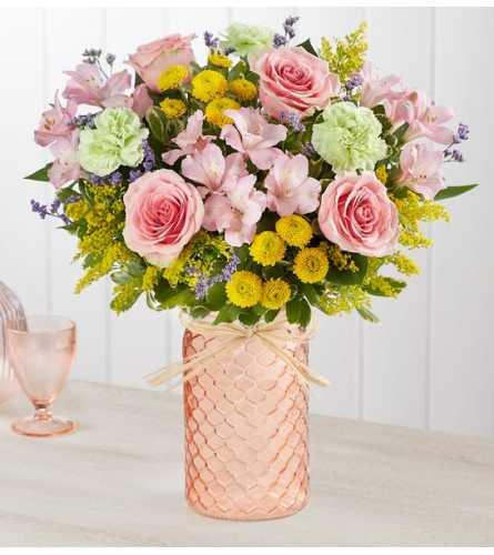 A Pastel Posy Bouquet