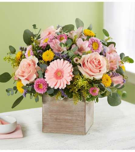 Spring Sentiment Bouquet