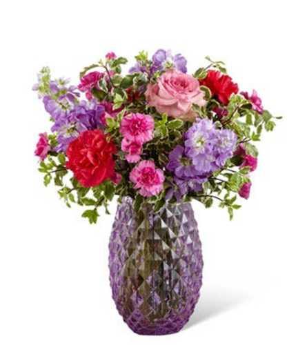 Purple Goddess Bouquet