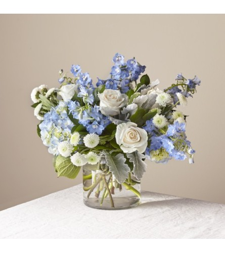 FTD's Clear Blue Skies Bouquet