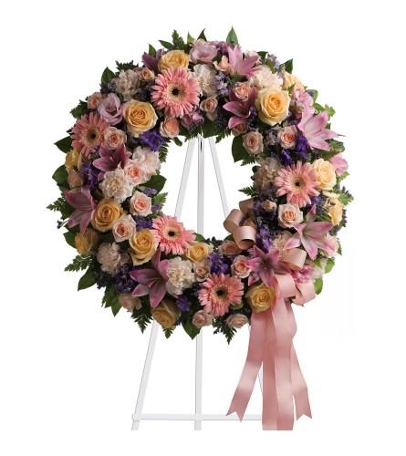 Custom Designed Tribute Wreath