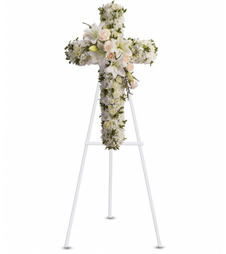 Custom Floral Cross