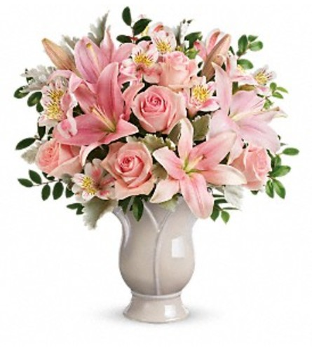 Blush and Rose Bouquet