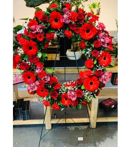 Celebration of Life - Crimson Love