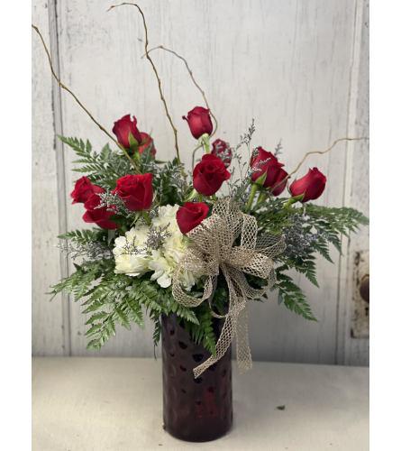 Heavenly Hydrangea and Roses