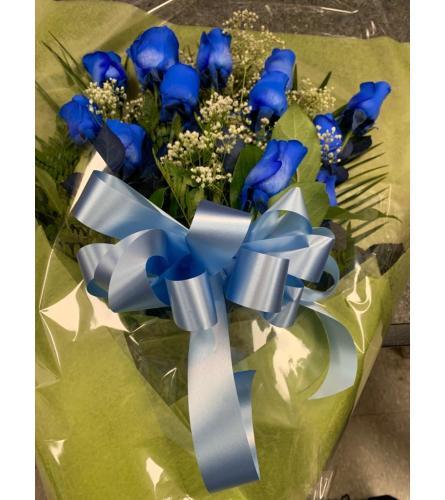 Enigmatic Blue Roses