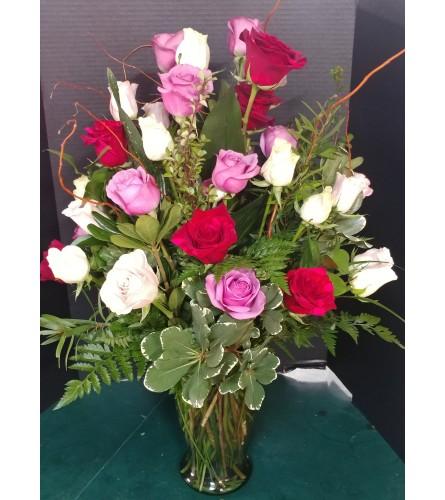 Four Dozen Rose Mix