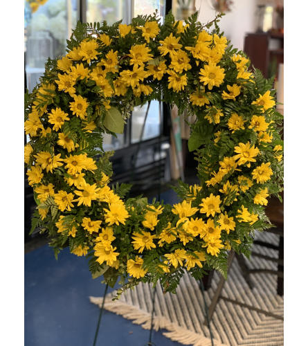 Kindness Blooms Wreath