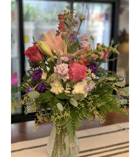 Ravishing Pinks and Purples Bouquet