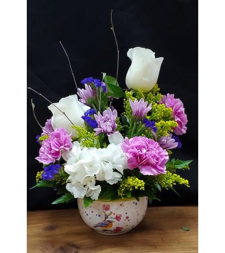 Bird Blossom Bowl