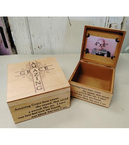 Amazing Grace Memory Box Large