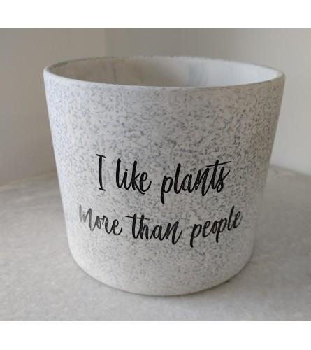 I Like Plants More Than People