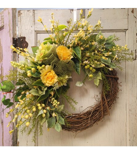 Bright and Cheery Wreath