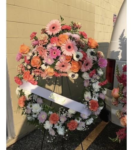 Bright Sympathy Wreath