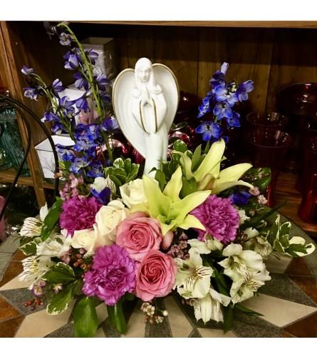 Angel Peace By Dynamic Flowers