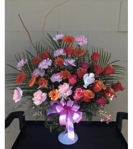 Bright Sympathy By Dynamic Flowers