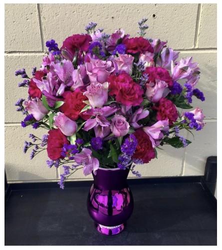 Pure Purple By Dynamic Flowers