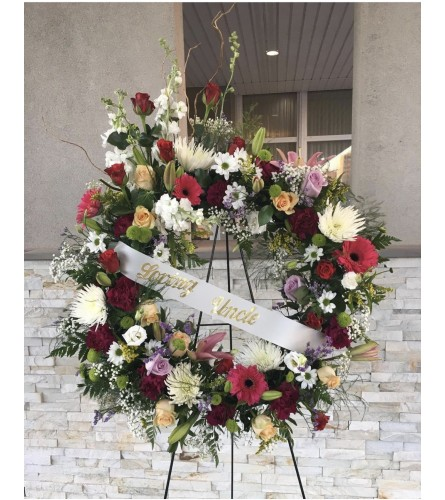 Peaceful Wreath By Dynamic Flowers