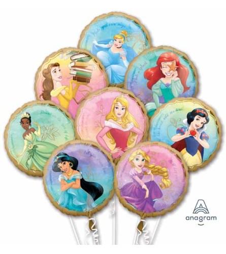 Disney Princess Once Upon A Time Super Fun Foil Bouquet
