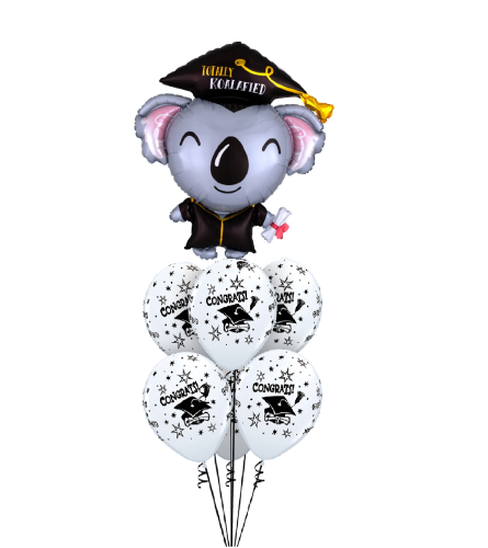 Totally Koalafied Awesome Balloon Bouquet