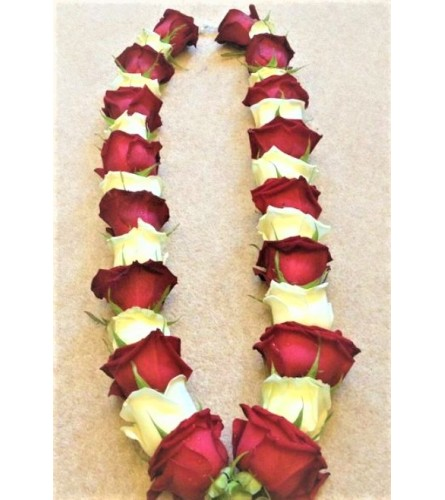 Rose garland by O'Flowers