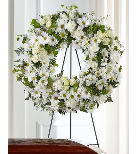 The Faithful Wishes Standing Wreath