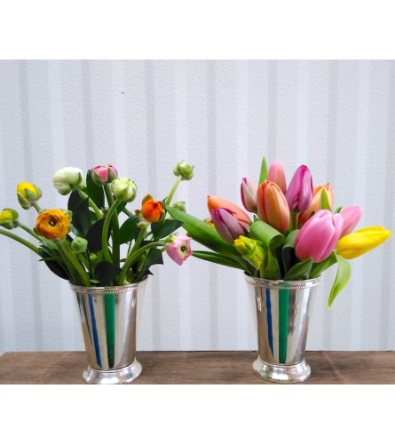 Spring Mint Juleps