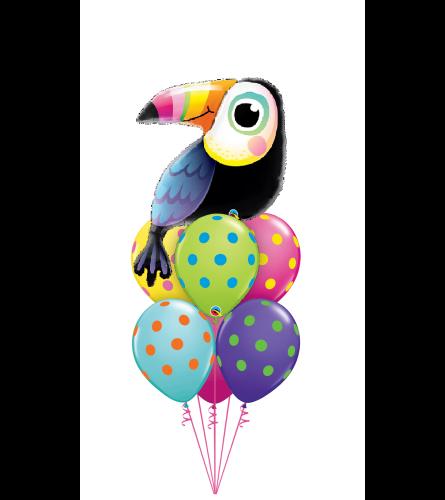 Toucan Dreams Awesome Balloon Bouquet