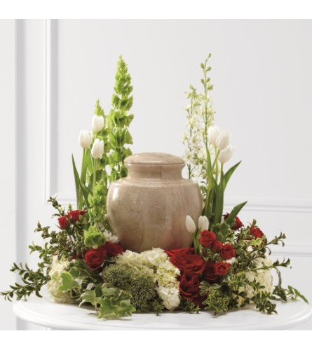 The Tears of Solace Urn Arrangement