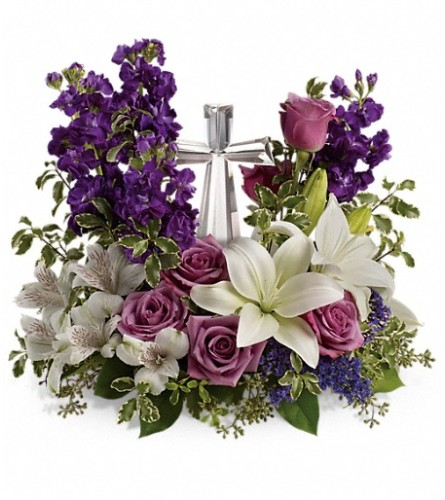 Grace & Majesty Remembrance Bouquet (Teleflora)
