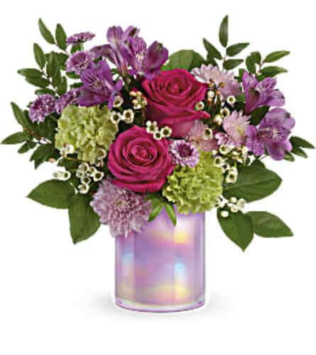 Iridescent Lovely Lilac Arrangement