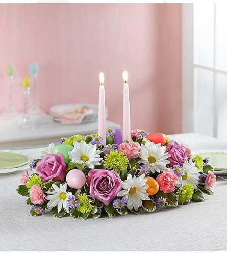 Easter Floral Centerpiece