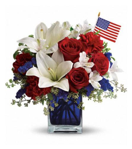 America the Beautiful Bouquet